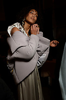 Asia Fashion Collection 10/02/2018<br /> Backstage, New York Fashion Week FW18 <br /> New York Fashion Week,  New York, USA in February 2018.<br /> CAP/GOL<br /> &copy;GOL/Capital Pictures