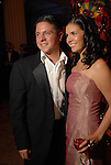 "Nick Espinosa and Gloria Luna at the Children's Museum ""Road to Rio"" Gala at The Corinthian Friday Oct. 19,2007.  (Dave Rossman/For the Chronicle)"
