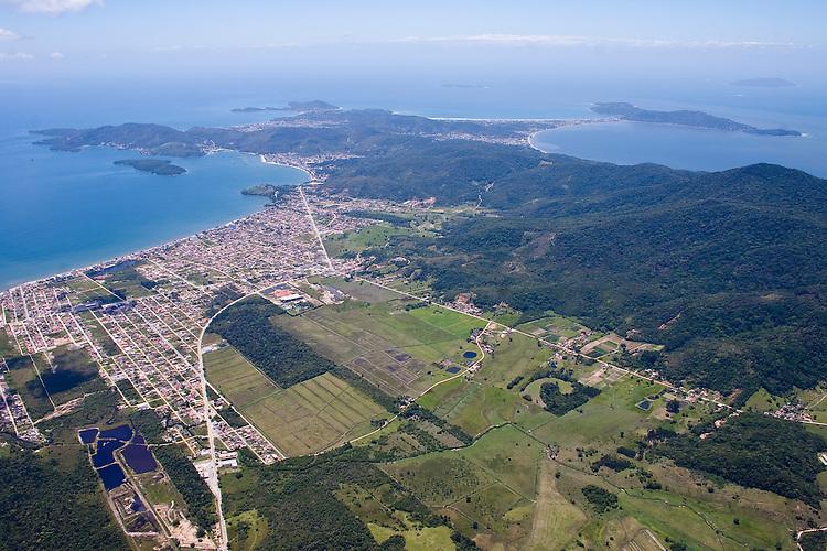 Vista aérea de Itapema, Santa Catarina, Brasil.