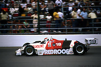 Bobby Rahal drives a March 82C/Cosworth in his first Indianapolis 500 on May 30, 1982, at the Indianapolis Motor Speedway in Indianapolis, Indiana.