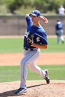 Eric Thompson, Los Angeles Dodgers 2010 minor league spring training..Photo by:  Bill Mitchell/Four Seam Images.
