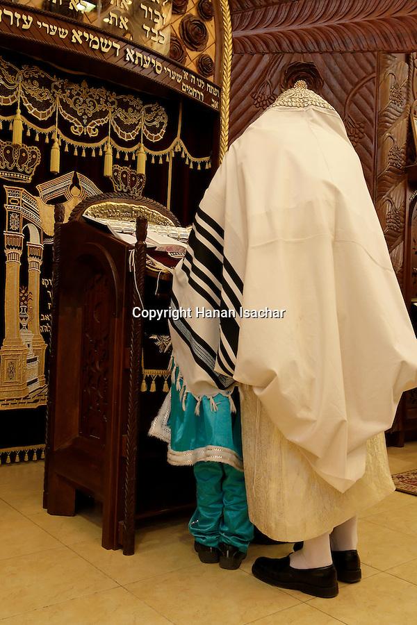 Priestly Blessing prayer, Bnei Brak, Israel   Hanan Isachar Photography