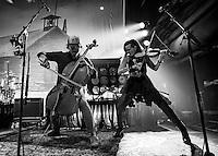 LAS VEGAS, NV - September 20, 2016: ***HOUSE COVERAGE*** The Avett Brothers perform at Brooklyn Bowl in Las vegas, NV on September 20, 2016. Credit: Erik Kabik Photography/ MediaPunch
