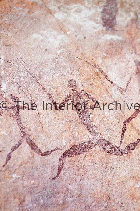 Ancient cave paintings, Zimbabwe