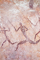 Ancient cave paintings, Zimbabwe