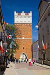 Brama Opatowska, Sandomierz, Polska<br /> Opatowska Gate in Sandomierz, Poland