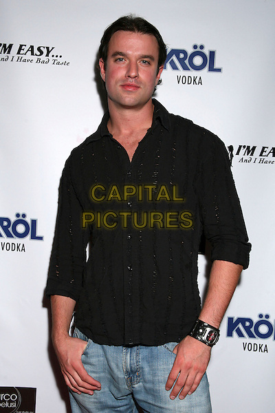 "BRANNON PURVIS.Book Release Party for ""I'm Easy... And I Have Bad Taste"" at Shag, Hollywood, California, USA..September 26th, 2006.Ref: ADM/BP.half length black shirt.www.capitalpictures.com.sales@capitalpictures.com.©Byron Purvis/AdMedia/Capital Pictures."