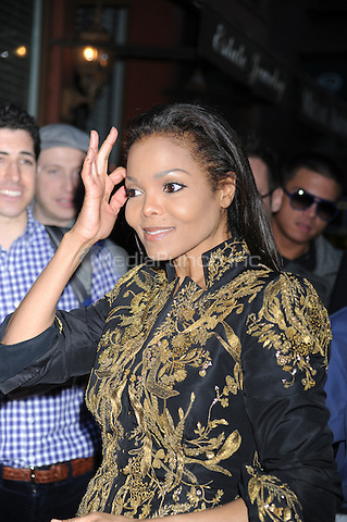 Janet Jackson at the Keszler Gallery for Marco Glaviano's Supermodels show in New York City. May 10, 2012.. Credit: Dennis Van Tine/MediaPunch