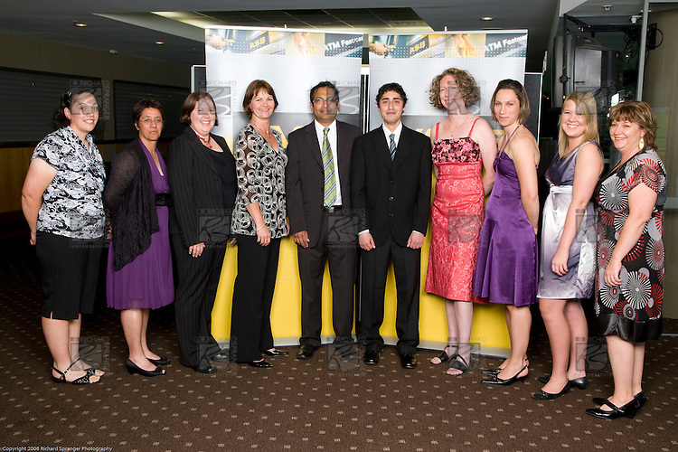 ASB College Sport Young Sportperson of the Year Awards 2008 held at Eden Park, Auckland, on Thursday November 13th, 2008.