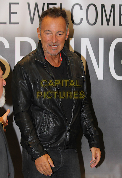 03 October 2016 - Los Angeles, California - Singer-songwriter Bruce Springsteen attends the Bruce Springsteen Fan Event for &quot;Born To Run&quot; at Barnes &amp; Noble at The Grove. <br /> CAP/ADM/PMA<br /> &copy;PMA/ADM/Capital Pictures