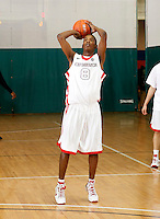 April 9, 2011 - Hampton, VA. USA;  Deshawn Pierre participates in the 2011 Elite Youth Basketball League at the Boo Williams Sports Complex. Photo/Andrew Shurtleff