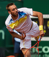 13-07-13, Netherlands, Scheveningen,  Mets, Tennis, Sport1 Open, day six, Thomas Schoorel (NED)<br /> <br /> <br /> Photo: Henk Koster