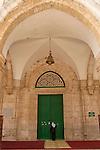 Israel, Jerusalem Old City. The entrance to Al Aqsa Mosque<br />