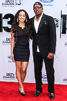 LOS ANGELES, CA - JUNE 30: Cymphonique Miller and Master P attend the 2013 BET Awards at Nokia Theatre L.A. Live on June 30, 2013 in Los Angeles, California. (Photo by Celebrity Monitor)