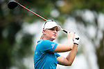 CHON BURI, THAILAND - FEBRUARY 17:  Anna Nordqvist of Sweden tees off on the 11th hole during day two of the LPGA Thailand at Siam Country Club on February 17, 2012 in Chon Buri, Thailand.  Photo by Victor Fraile / The Power of Sport Images