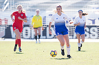 Lakewood Ranch, FL - December 10, 2017: 2017 Girls Development Academy Winter Showcase & Nike International Friendlies at Premier Sports Campus at Lakewood Ranch, FL.