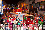Santa Claus arrives at the Christmas in Killarney parade on Friday night