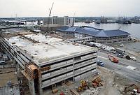 1983 April 18..Redevelopment.Downtown South (R-9)..WATERSIDE.CONSTRUCTION PROGRESS.WATERSIDE GARAGE...NEG#.NRHA#..