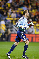 26 SEPTEMBAR 2009:  #1 William Hesmer, Columbus Crew goal keeper during the Los Angeles Galaxy at Columbus Crew MLS game in Columbus, Ohio on May 27, 2009. Columbus defeated LA 2-0