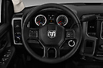 Car pictures of steering wheel view of a 2017 Ram Ram 3500 Tradesman Crew Cab Long 4 Door Pick Up