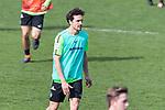 10.04.2018, Trainingsgelaende, Bremen, GER, 1.FBL, Training SV Werder Bremen<br /> <br /> im Bild<br /> Thomas Delaney (Werder Bremen #06), <br /> <br /> Foto &copy; nordphoto / Ewert