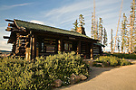 Visitor Center at Cedar Breaks National Monument, Utah