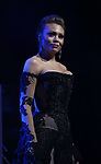 """Alyson Cambridge during the Broadway Opening Night Performance Curtain Call of  """"Rocktopia"""" at The Broadway Theatre on March 27, 2018 in New York City."""
