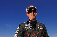 Apr 17, 2009; Avondale, AZ, USA; NASCAR Nationwide Series driver Justin Allgaier during qualifying prior to the Bashas Supermarkets 200 at Phoenix International Raceway. Mandatory Credit: Mark J. Rebilas-