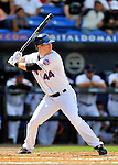 28 February 2011: New York Mets outfielder Jason Bay in action during a Spring Training game against the Washington Nationals at Digital Domain Park in Port St. Lucie, Florida. The Nationals defeated the Mets 9-3 in Grapefruit League action. Mandatory Credit: Ed Wolfstein Photo