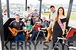 Ballyheigue CCE who performed during the Ballyheigue Summer Fest parade on Sunday. music<br /> Kneeling l to r: Riastard Foran, Adam Carlton, Mary O'Sullivan, Tom Fitzgerald and John Lucid<br /> Standing l to r: Kerry Barrett, John Thornton, Tim Duggan and Conagh Fitzgerald.