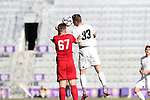 Orlando, Florida - Wednesday January 17, 2018: Cory Brown and Gordon Wild. Match Day 3 of the 2018 adidas MLS Player Combine was held Orlando City Stadium.
