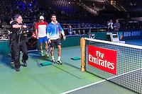 ABN AMRO World Tennis Tournament, Rotterdam, The Netherlands, 15 Februari, 2017, Jean-Julien Rojer (NED), Horia Tecau (Rou)<br /> Photo: Henk Koster