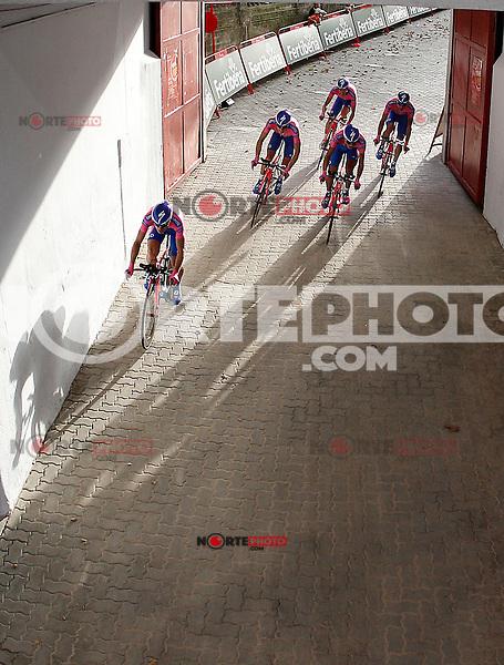 Team Lampre-ISD during Special Crono Stage.August 17,2012. (ALTERPHOTOS/Alfaqui/Acero) /NortePhoto.com<br /> <br /> **SOLO*VENTA*EN*MEXICO**<br /> **CREDITO*OBLIGATORIO** <br /> *No*Venta*A*Terceros*<br /> *No*Sale*So*third*<br /> *** No Se Permite Hacer Archivo**<br /> *No*Sale*So*third*