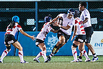 Women's Rugby World Cup Qualifier match between Japan and Fiji at Hong Kong King's Park Sports Ground on 13 December 2016 in Hong Kong, China. Photo by Marcio Rodrigo Machado / Power Sport Images