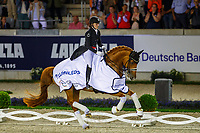 DEN-Cathrine Dufour rides Atterupgaards Cassidy during the LUMILEDS-Prize - Grand Prix Freestyle to Music CDI4*. Final-1st. 2019 GER-CHIO Aachen Weltfest des Pferdesports. Saturday 20 July. Copyright Photo: Libby Law Photography