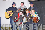 TUNE UP: Some of the musicians who played in the causeway Fleadh Ceoil on Thursday evening in Causeway  Front l-r: Bryan Murphy, Kieran Walsh and Michael Burke. Back l-r: Bernard Finnegan, Graham O'Connor and Denis McCarthy....