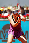 Sabine Lisicki, Germany, during Madrid Open Tennis 2016 match.May, 3, 2016.(ALTERPHOTOS/Acero)