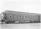 Side view of parlor car &quot;Chama.&quot;<br /> D&amp;RGW