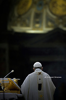 "Pope Francis ""feast of candles"" during Holy Mass for the Solemnity of the presentation of Our Lord at St Peter's basilica at the Vatican. on Febraury 1, 2020"