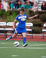Boston Breakers midfielder Jo Dragotta (25).  In a National Women's Soccer League Elite (NWSL) match, Sky Blue FC defeated the Boston Breakers, 3-2, at Dilboy Stadium on June 16, 2013