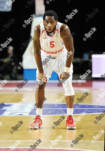 2014-12-02 / Basketbal / seizoen 2014-2015 / Antwer Giants - Le Mans / Kane DeAndre<br /><br />Foto: mpics.be