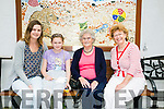 Enjoying the Family Day at Baile Mhuire Day Care Centre on Saturday were l-r  Claire O'Flynn, Emily O'Flynn, Mary Colgan and Mary O'Sullivan