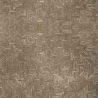 Rattan, a hand-cut tumbled mosaic, shown in Bayard, is part of the Tissé™ collection for New Ravenna.