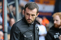 Nathan Jones (Manager) of Luton Town during the Sky Bet League 2 Play Off Semi Final 2 leg match between Luton Town and Blackpool at Kenilworth Road, Luton, England on 18 May 2017. Photo by David Horn.