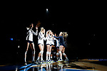 KANSAS CITY, KS - DECEMBER 14: Kendall White #3 of Penn State University is introduced prior to the Division I Women's Volleyball Semifinals held at Sprint Center on December 14, 2017 in Kansas City, Missouri. (Photo by Tim Nwachukwu/NCAA Photos via Getty Images)