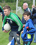 XXJOB Sport Legion V Mid Kerry;  Injured James o'Donoghue and Legion waterboy Micheal Keane keep an eye on proceedings in the Legion V Mid Kerry Garveys Kerry County Championship in Killorglin on Sunday.<br /> Picture by Don MacMonagle