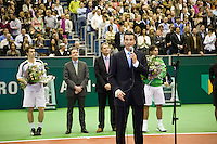 15-2-09,Rotterdam,ABNAMROWTT, Prijsuitreiking Andy Murray Rafael Nadal