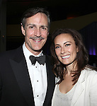 Howard McGillin & Laura Benanti.attending the Signature Theatre Stephen Sondheim Award Gala reception honoring Patti Lupone at the Embassy of Italy in Washington D.C. on 4/16/2012.