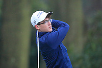 Tom Stagg (Salisbury &amp; South Wilts GC) during the first round of the Peter McEvoy Trophy played at Copt Heath Golf Club, Solihull, England. 11/04/2018.<br /> Picture: Golffile | Phil Inglis<br /> <br /> <br /> All photo usage must carry mandatory copyright credit (&copy; Golffile | Phil Inglis)
