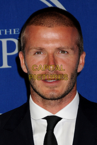 DAVID BECKHAM.ESPY Awards 2008 - Press Room at the Nokia Theatre LA Live, Los Angeles, California, USA..July 16th, 2008.headshot portrait stubble facial hair .CAP/ADM/BP.©Byron Purvis/AdMedia/Capital Pictures.